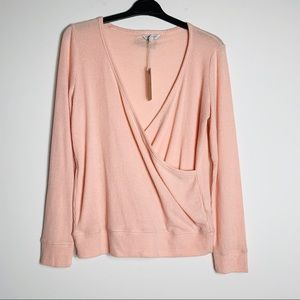 Lucky Brand Wrap Style Top